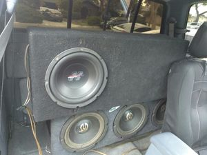 10 Subwoofer For Truck With Long Thin Box $100 for Sale in La Mirada, CA