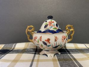 Porcelain Sugar Bowl Hand Crafted In Japan for Sale in Peoria, AZ