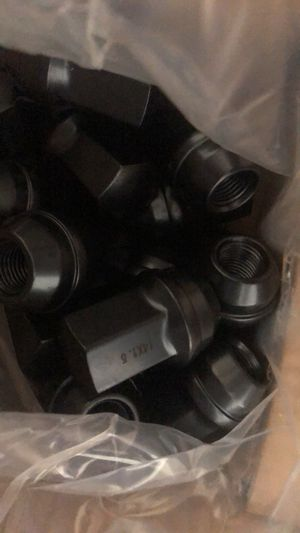 *SALE* 20 JEEP 14x1.5 OEM FACTORY BLACK WHEEL LUG NUT FIT GRAND CHEROKEE STOCK WHEEL for Sale in Western Springs, IL