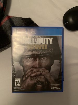 Call of duty WWII (world war 2) Ps4 for Sale in Hialeah, FL