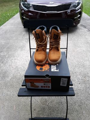 Timberland Steel toe work boots Men Size 10 for Sale in Durham, NC