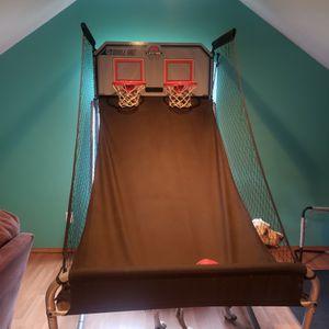 Electric scoreboard basketball hoop for Sale in Vancouver, WA