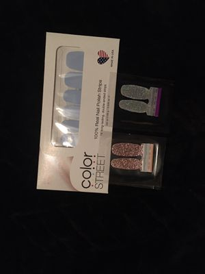Color street with accent nails for Sale in Orient, OH