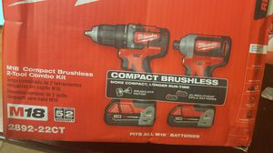 Milwaukee M18 drill and impact **BRAND NEW** for Sale in Bangor, PA