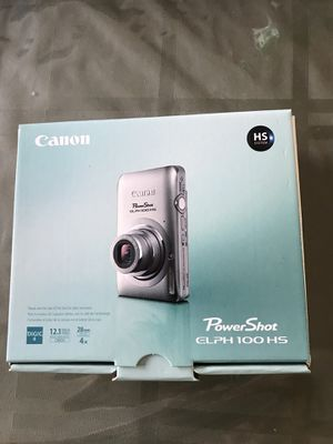 Canon PowerShot 100 HS Digital Camera for Sale in Irvine, CA