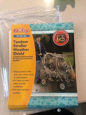 Brand New Stroller Weather Shield 8 pcs for Sale in Rahway, NJ
