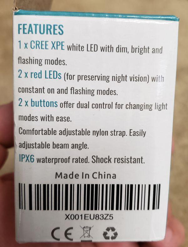 Headlamp for sale