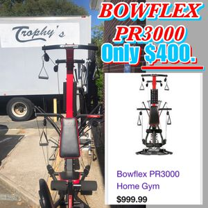 BOWFLEX PR3000 HOME GYM for Sale in Virginia Beach, VA