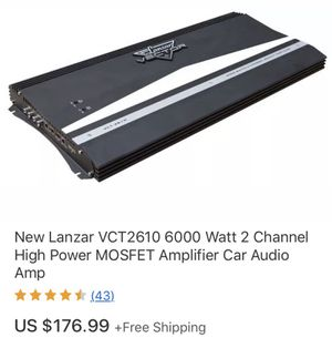 Lanzar High power amp Don't waste my time if you don't want it for Sale in Detroit, MI