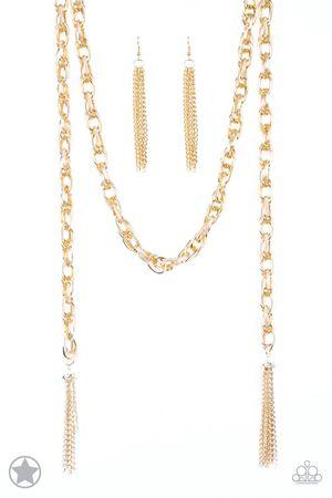 Paparazzi Gold scarf chain for Sale in Winter Garden, FL