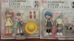 Anime Evangelion Rei Asuka Kaworu Toy Figure Plush for Sale in North Highlands, CA