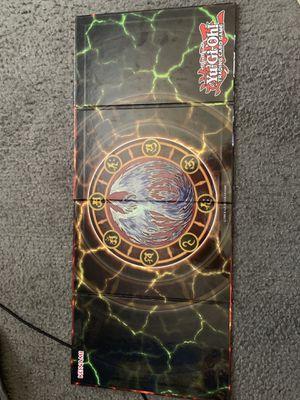 Yugioh hard board game mat for Sale in Rialto, CA