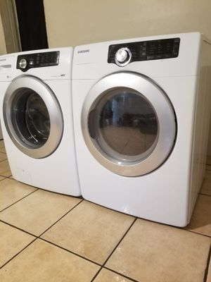 SAMSUNG WASHER AND ELECTRIC DRYER for Sale in Glendale, AZ