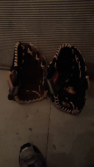2 baseball gloves brand new both for 40 for Sale in Seattle, WA