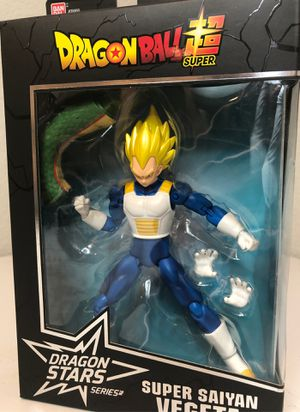 Dragonball Z Ban Dai Action Figure Super Saiyan Vegeta for Sale in Lago Vista, TX