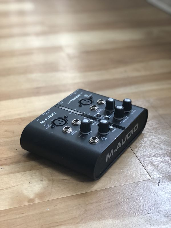 M-Audio M-Track Plus (Great Condition, Used In A Non-Smoking Studio)