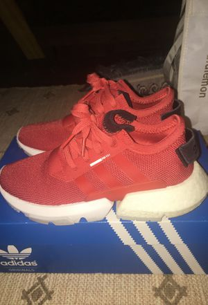RED ADIDAS POD-S3.1.3 SHOES for Sale in Dearborn, MI