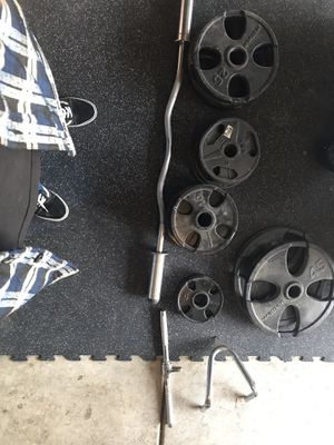 Weight set and setup for Sale in Corona, CA