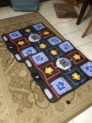 2 pack dance pad for ps2 game not included for Sale in St. Petersburg, FL