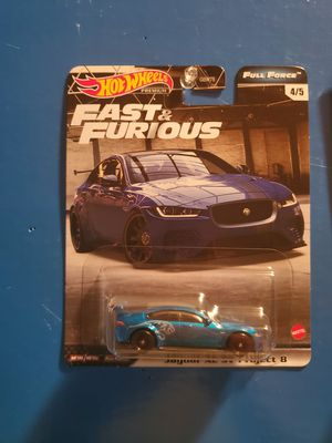 Hot Wheels fast and furious jaguar for Sale in Orlando, FL