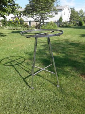 Chrome metal clothes rack for Sale in Northumberland, PA