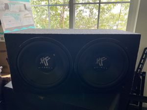 "12"" speakers hifonics for Sale in Fresno, CA"