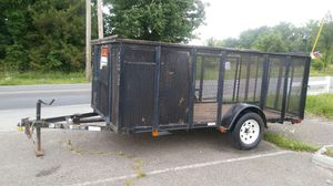 🚛🚛📍📍🚡2006 UTILITY LANDSCAPING TRAILER~ Caged in with high walls for Sale in Brandywine, MD