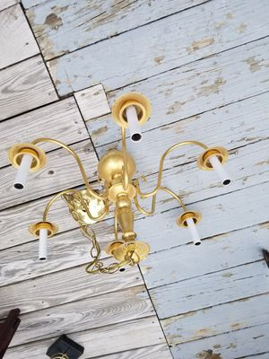 Gold color Chandelier for Sale in Fitchburg, MA
