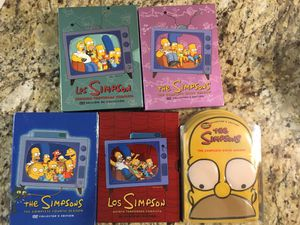 The Simpsons DVD Seasons 2-6 for Sale in Miami, FL