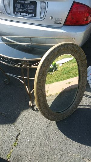Table and mirror set for Sale in Fontana, CA