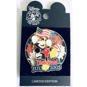 DLR 4th of july 2005 mickey disneyland spinner pin for Sale in Santa Ana, CA