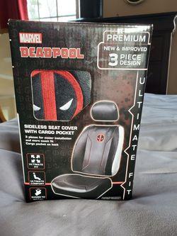 Deadpool 3 Piece Seat Cover Set for Sale in Dallas,  GA