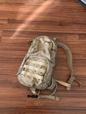 Camo Camel pack refillable water backpack for Sale in Riverside, CA