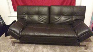 Leather Full size Futon for Sale in Tomball, TX
