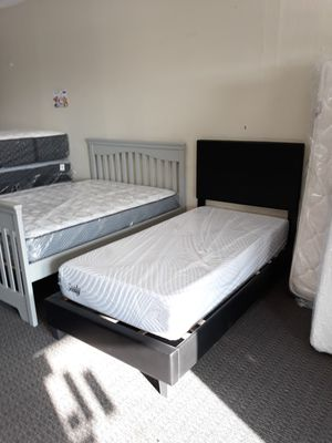 Memory Foam Twin Size Mattress & Bed Frame for Sale in St. Louis, MO