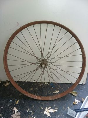 Old10 speed tire wheel. $10 for Sale in Saint Joseph, MO