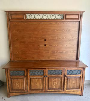 TV Entertainment Cabinet for Sale in Castaic, CA
