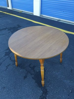 Antique Small Wood Table & 4 Chairs for Sale in Oxon Hill, MD