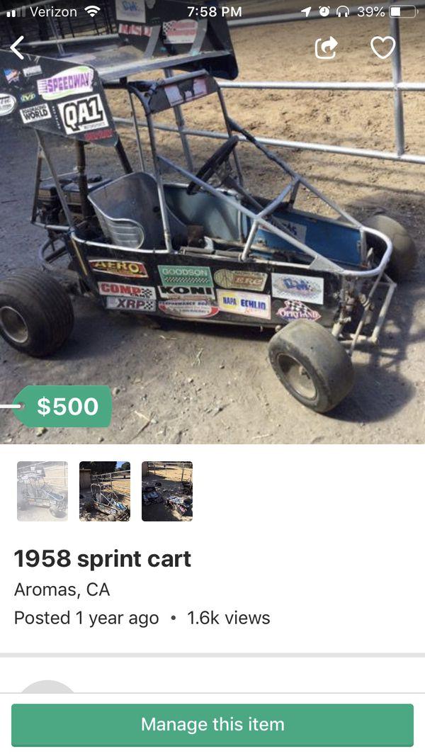 Go kart for Sale in Mount MADONNA, CA - OfferUp