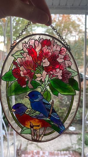 Flower and bird sun catcher for Sale in Queens, NY