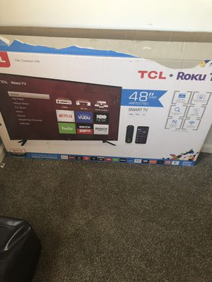 48in TCL ROKU Smart Tv for Sale in Indianapolis, IN