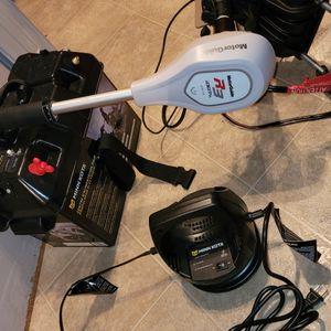 Trolling Motor, Battery Plus Charger and Case for Sale in Vista, CA