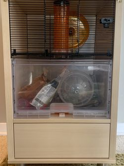 Qute Hamster / Gerbil Cage By Omlet for Sale in Olalla,  WA