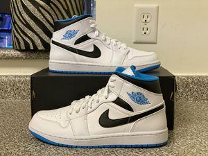 Jordan 1 Mid Laser Blue Size 8 for Sale in Newport News, VA