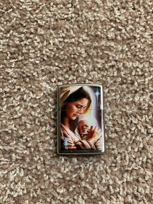 Mary & Jesus, Sheng Xiao Zippo Lighters & Fluid Included for Sale in Columbia, SC