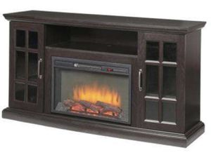 Brand new (already assembled) Home Depot Electric Fireplace for Sale in Washington, DC