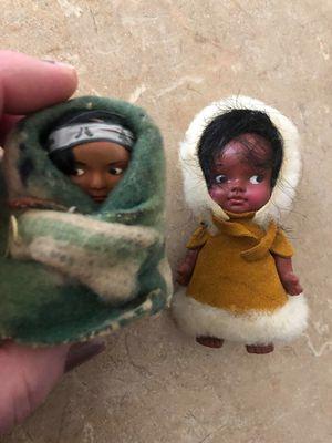 Old Antique Indian Eskimo Doll Lot Little Dolls Lot for Sale in Leander, TX