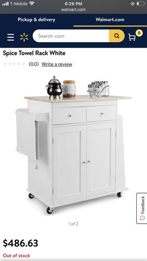 Kitchen rolling island for Sale in Norco, CA