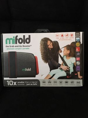 Mifold Grab n' Go Booster Seat for Sale in Greenville, SC