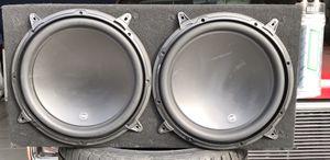 "JL Audio 13.5"" W3v3 4ohm speakers for Sale in Fresno, CA"